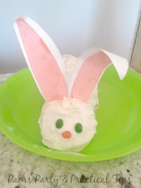 Easter cake, bunny cake,  Easter dessert
