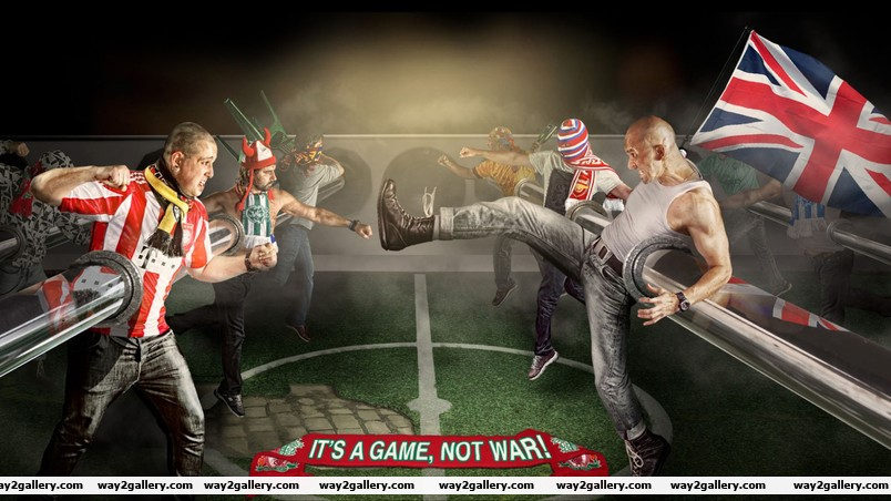 Its a game not war wallpaper