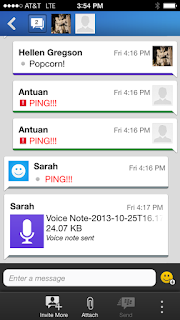 PING en iPhone