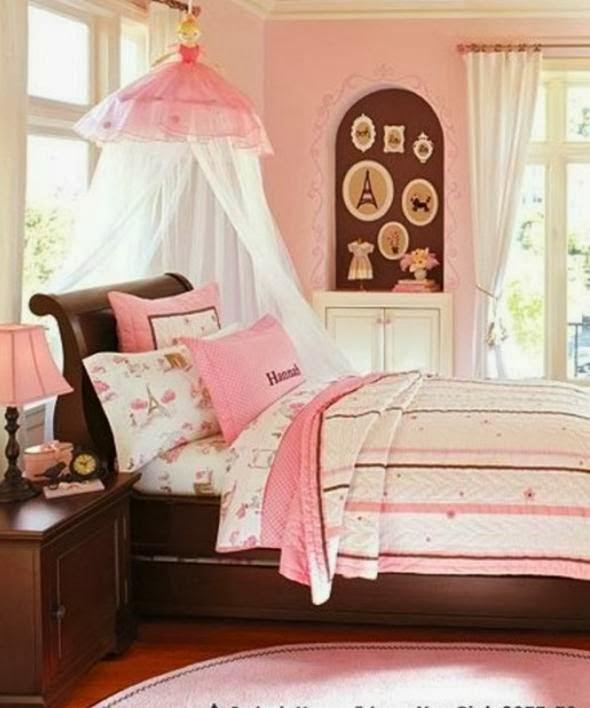 Colores para decorar dormitorios de ni as colores en casa for Cuartos de ninas fucsia