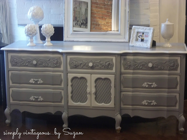 Annie Sloan Chalk Paint, French Provincial, Painted dresser,