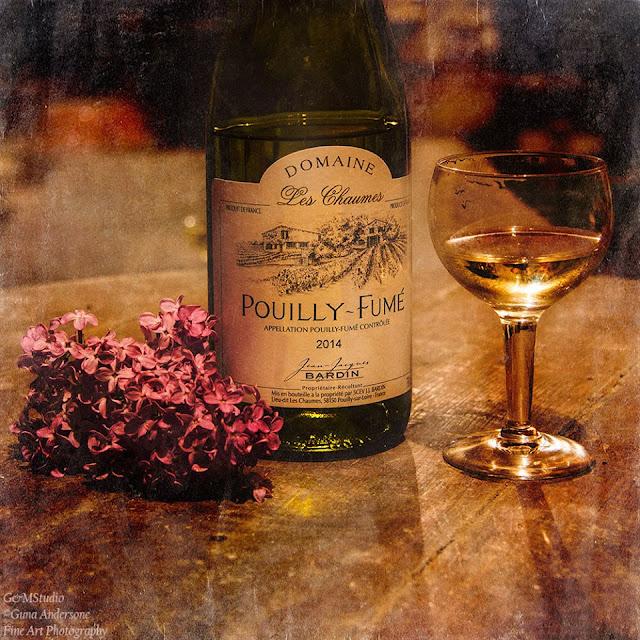gunadesign guna andersone wine bottle and lilac