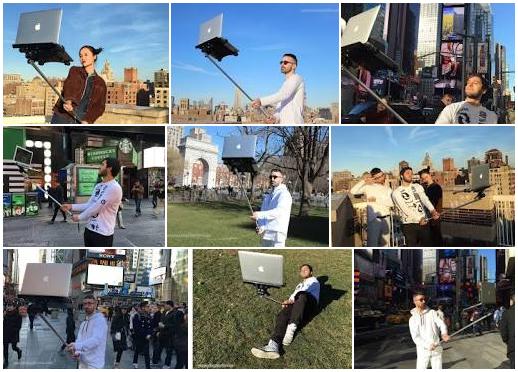 Macbook Selfie 2016