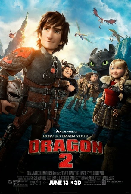 """How to Train Your Dragon 2 (2014)"" movie review by Glen Tripollo"