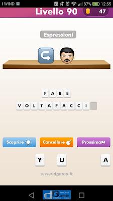 Emoji Quiz soluzione livello 90
