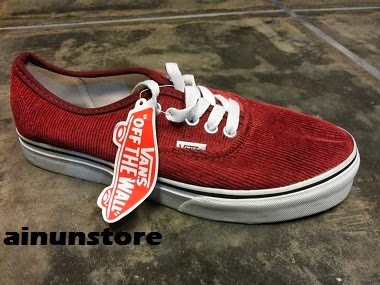 fa4fd0366c9001 Vans Authentic Corduroy
