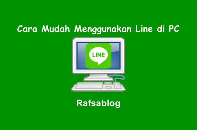 Cara Mudah Menggunakan Line di PC