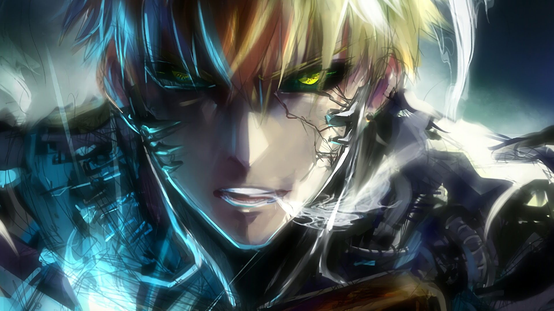 Genos One Punch Man 4k Wallpaper 80