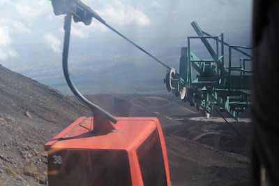 Sicilië - The Etna - cabelcar to the top