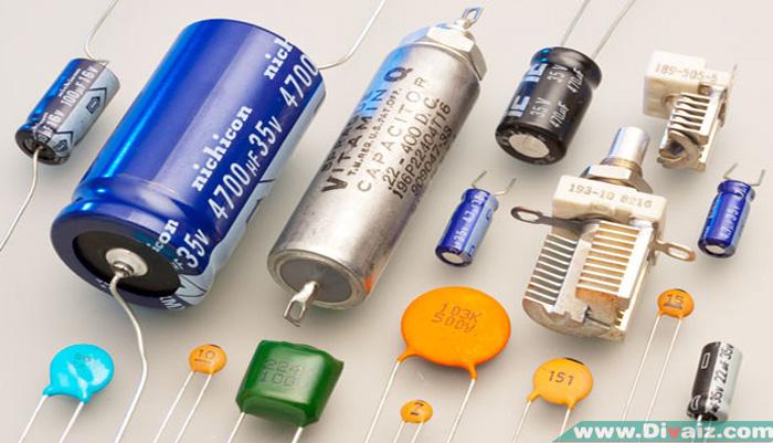 Pengertian dan Fungsi Kapasitor Pada Rangkaian Elektronika