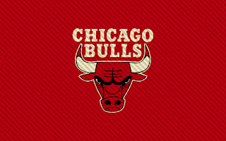 Chicago Bulls Logo Red Background Lines HD Wallpaper
