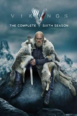 Capa Sexta Temporada de Vikings