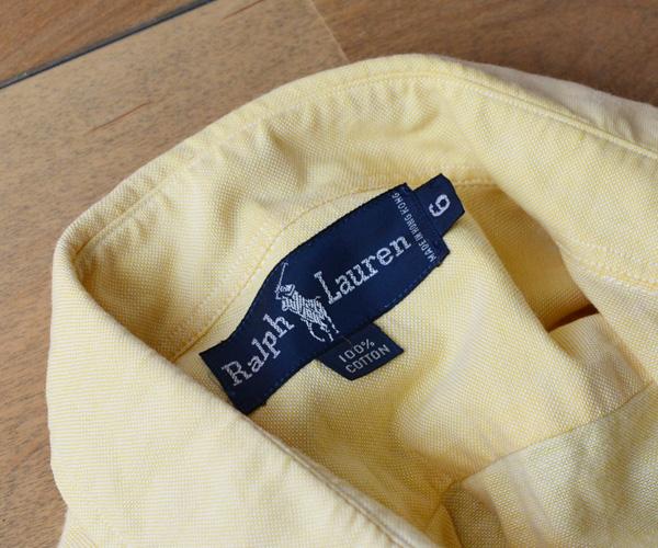 90sビンテージラルフローレンRalph Laurenオックスフォードシャツ