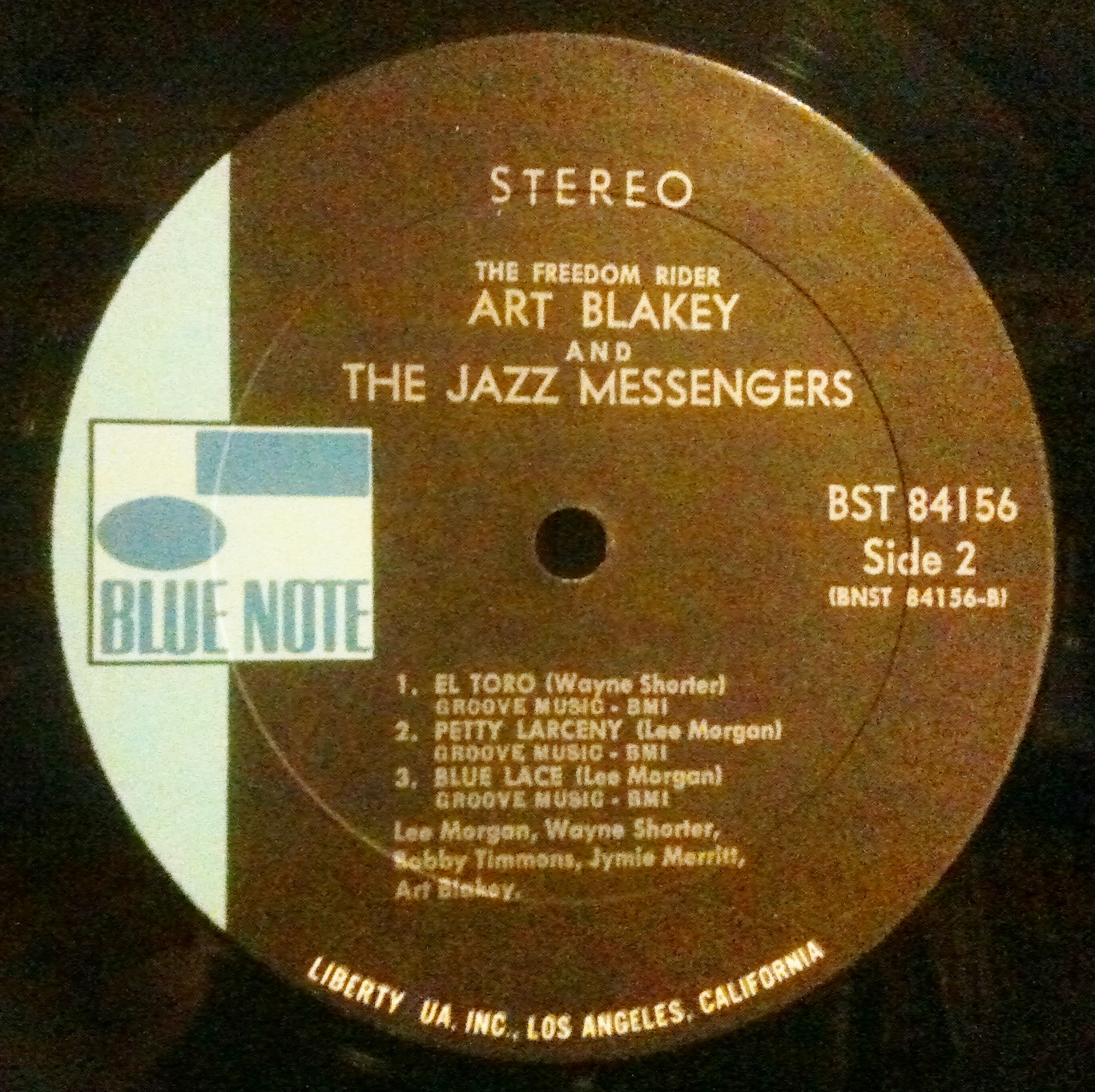 Blue Note Record Collector: Vintage Blue Note Record Label