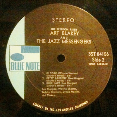 Blue Note Records Color Changing on Labels in the 1970's