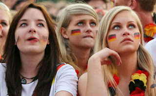 German beautiful fans
