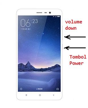 Cara Cepat Screeshot Layar Xiaomi Redmi 3 Pro