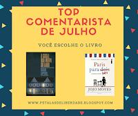 top-comentarista, blog-literario, petalas-de-liberdade, livros
