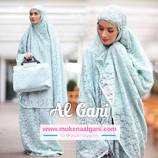 mukena%2Bmarwah5 Dokter barbie Tika cantik wearing Mukena Najwa super duper Best Seller 😍