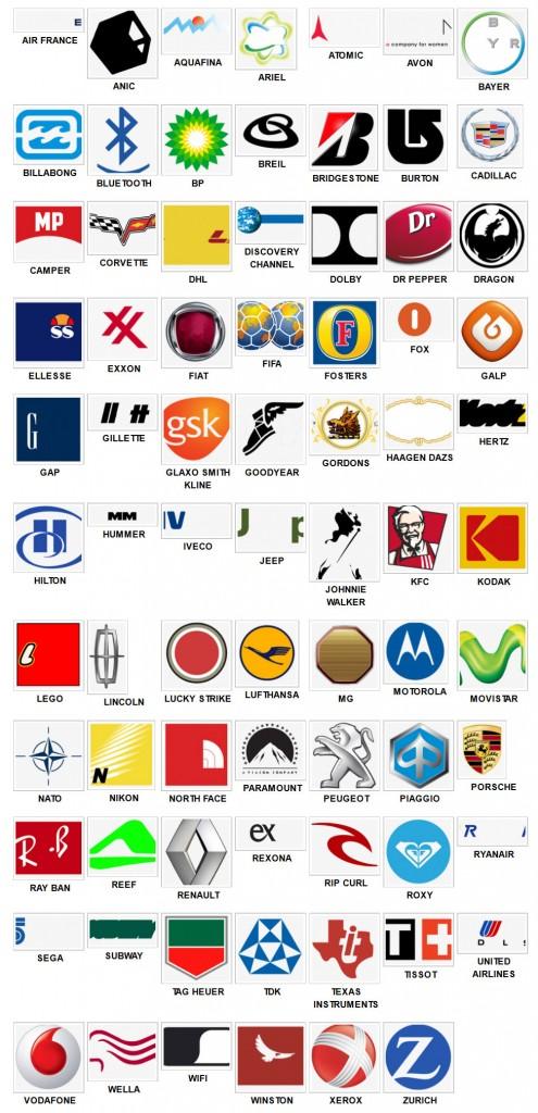Logo Collection: Logo Quiz Answers Level 2