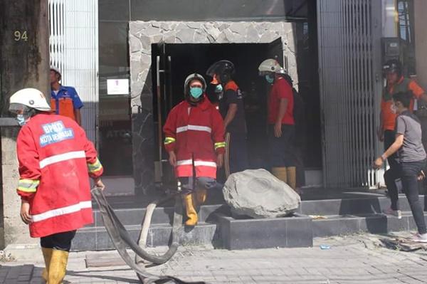 Toko Eiger di Jalan Teuku Umar Terbakar