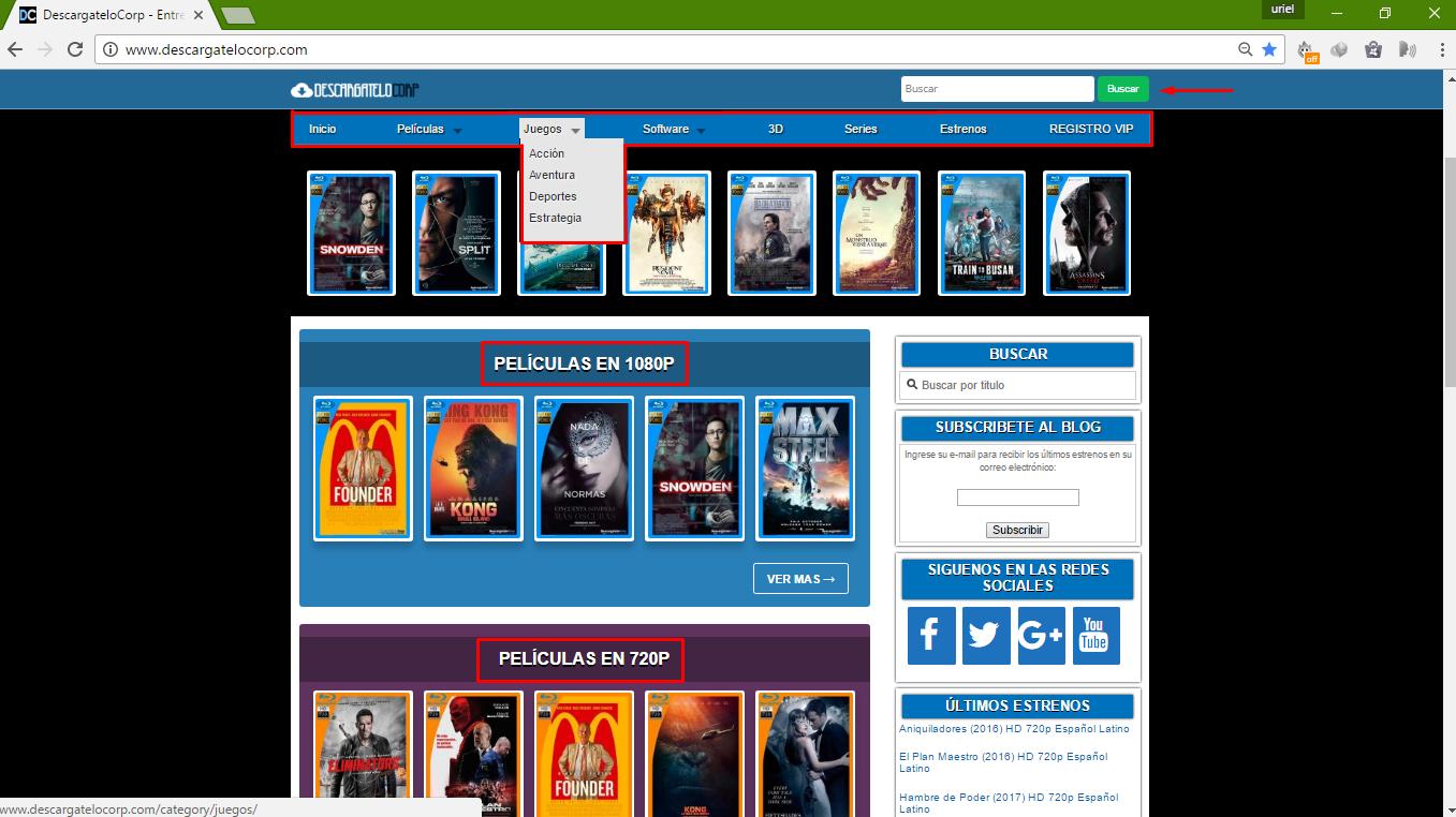 Descargar películas totalmente gratis por MEGA - Andropixel
