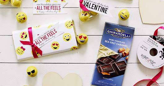 FREE | All The Feels Emoji Themed Valentine's Day Ideas