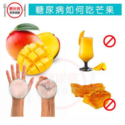 糖尿病如何正確吃芒果