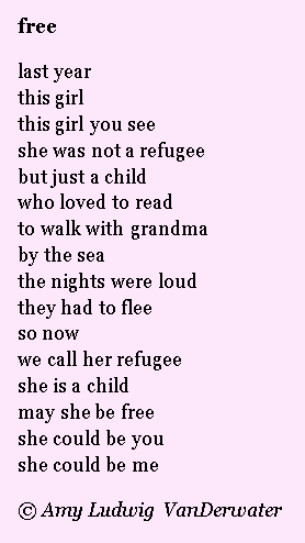 The Poem Farm Voices Of Refugees A Free Verse Poetry Peek