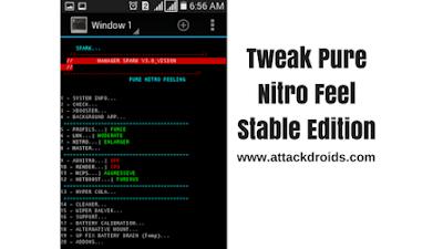 Tweak Pure Nitro Feel Stable Edition