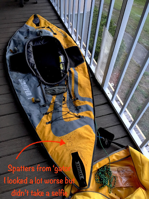 West Marine Scamper I inflatable kayak.