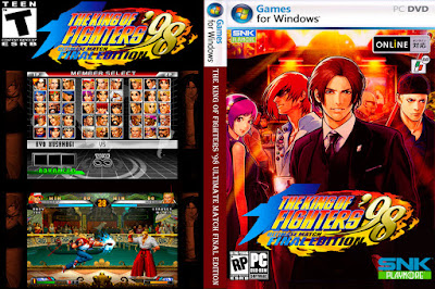 Jogo The King Of Fighters '98 Ultimate Match Final Edition PC DVD Capa