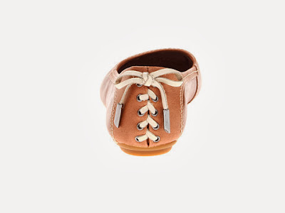 Hush Puppies Chaste Skimmer LB - Brown/White
