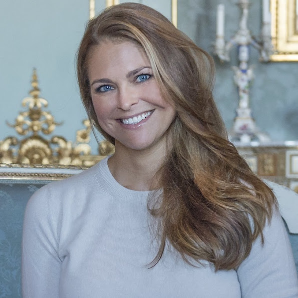 Princess Madeleine is the patron of My Big Day Foundation. (Princess Leonore at 'My Big Day' party)