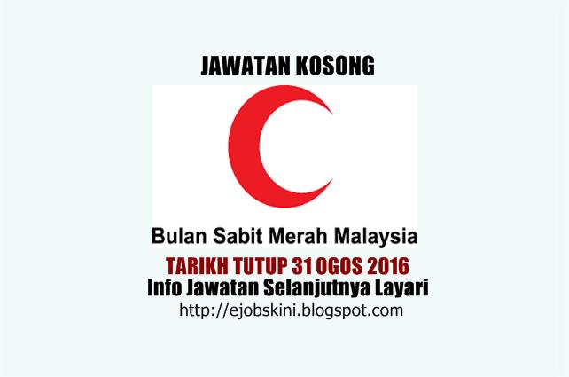 jawatan kosong bulan sabit merah malaysia ogos 2016
