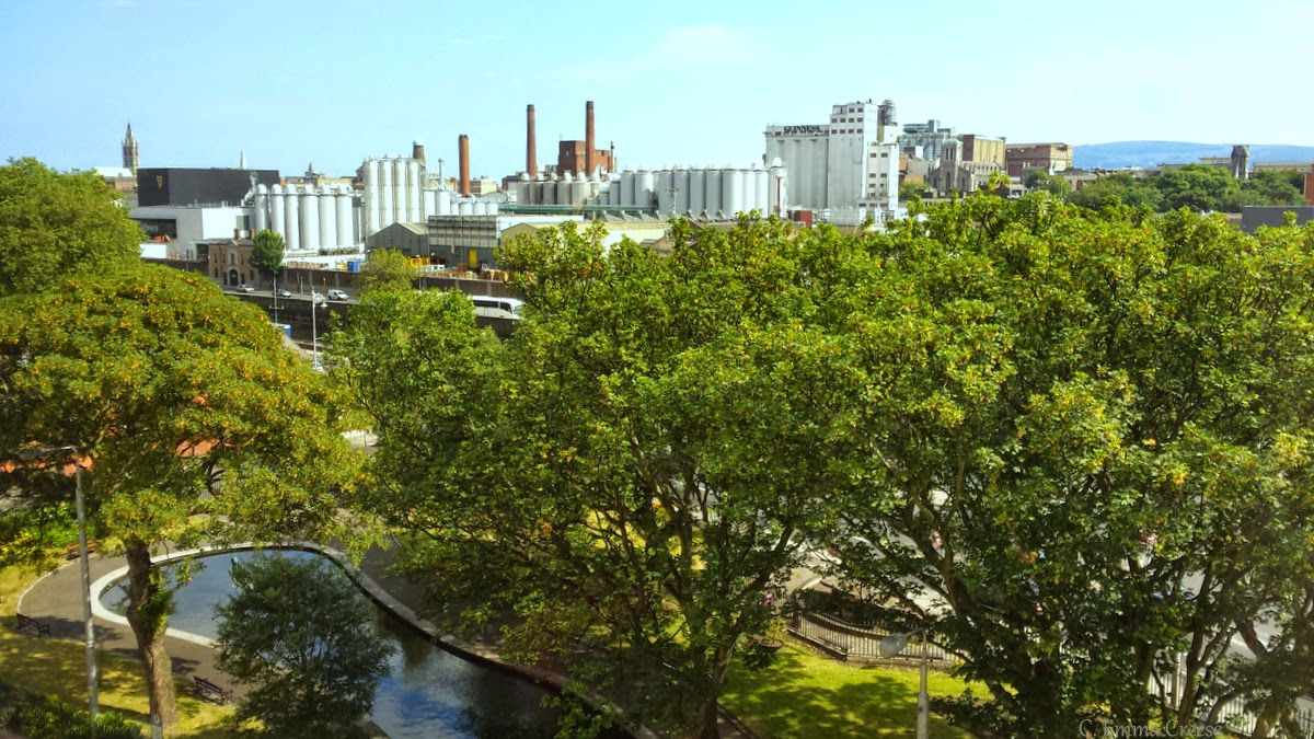 Guinness Factory, Dublin - A Room with a View - September travel linkup