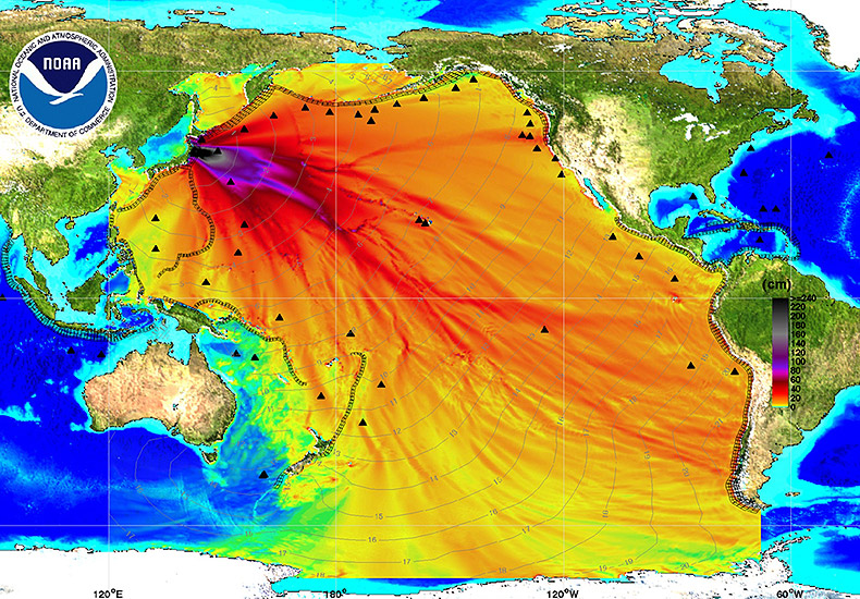Fact Check Fukushima Radioactive Water Leak Chart - Pacific-ocean-on-us-map