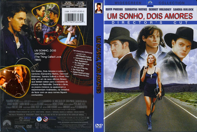Capa DVD Um Sonho Dois Amores