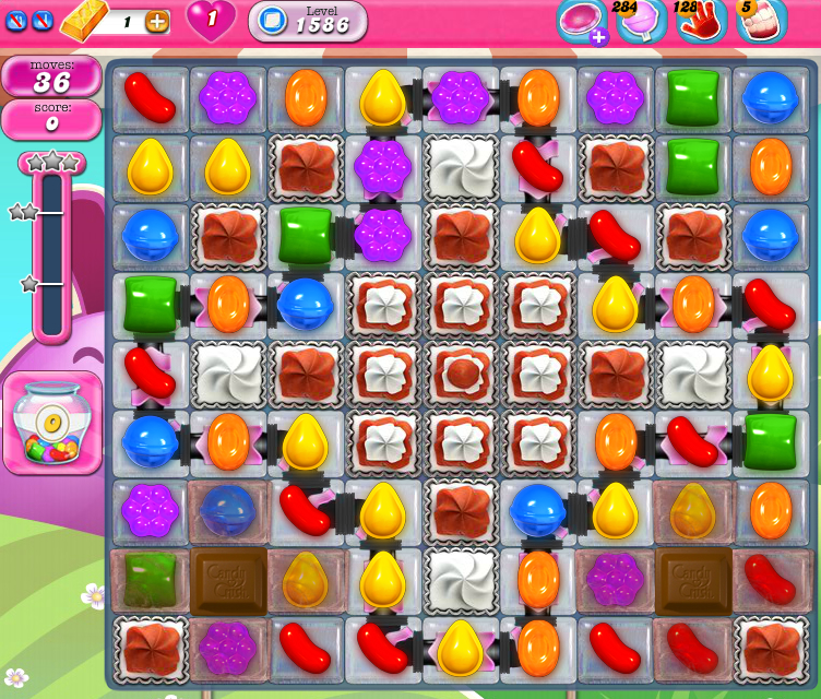 Candy Crush Saga 1586