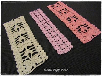 crochet bookmarks, easy crochet, christmas gifts