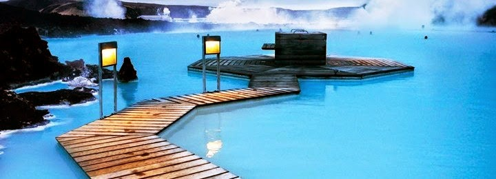 Blue Lagoon, Iceland, natural cozy pool