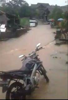 Di Guyur Hujan 5 Jam,Dusun Joso Tergenang Air