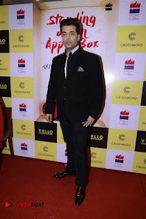 Sonakshi Sinha Karan Johar at Aishwarya Rajinikanth Standing on an Apple Box Book Launch Event  0028.jpg