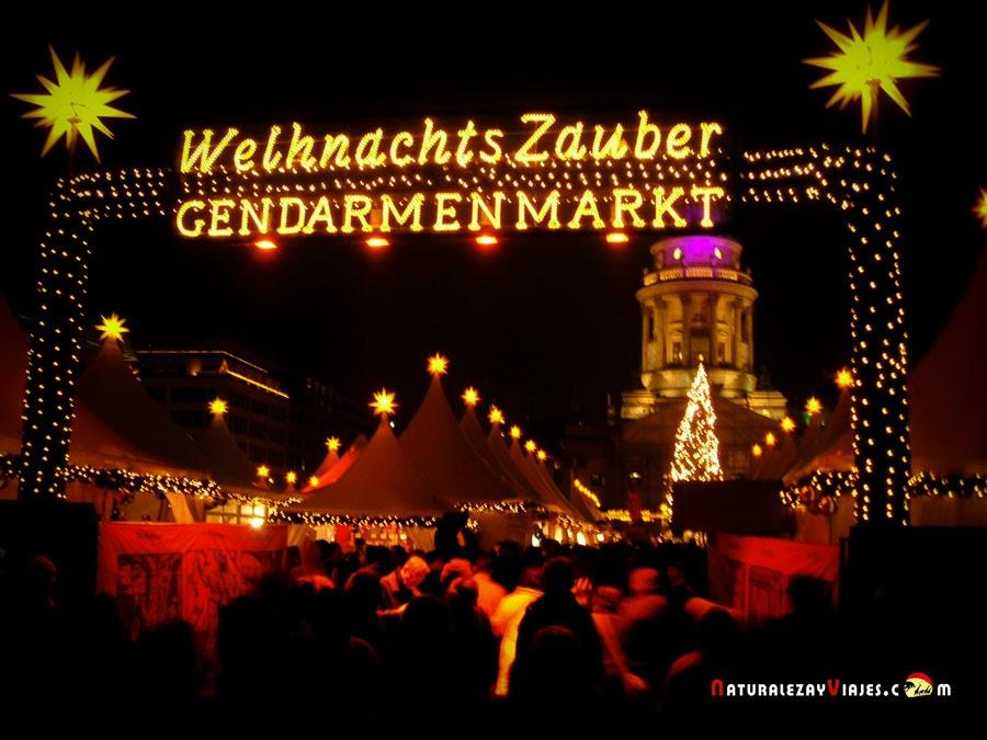 Mercado de Navidad Gendarmenmarkt en Berlín
