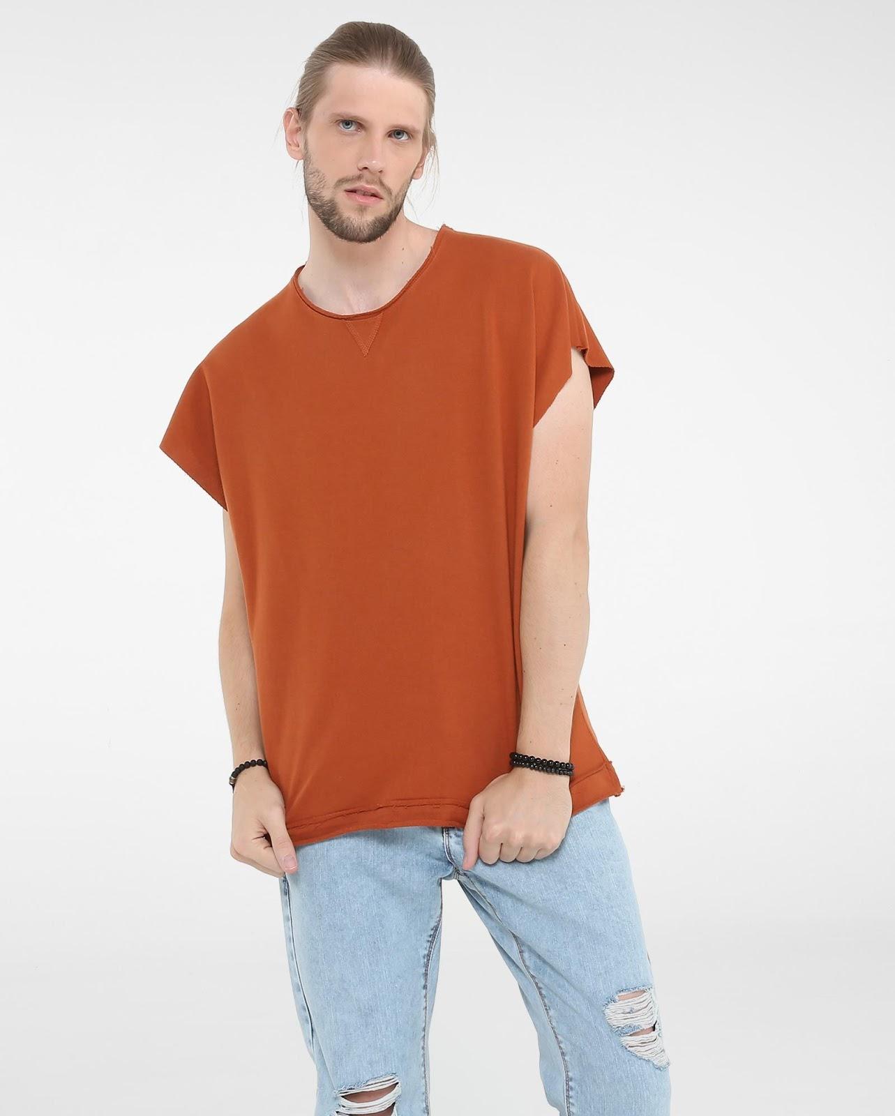 LEO KLEIN - KADU DANTAS PARA RIACHUELO - Camiseta Ampla Moletinho