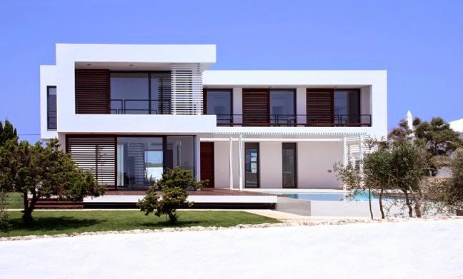 Casa moderna en menorca por dom arquitectura menorca - Casas en menorca ...