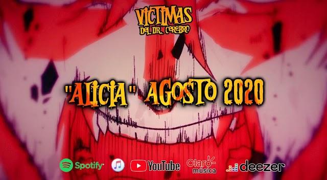 """Victimas del Dr. Cerebro lanza oficialmente """"Alicia"""", tercer sencillo de """"Ahí vienen las brujas"""""""