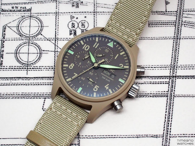 "IWC - Pilot's Watch Chronograph Top Gun Edition ""Mojave Desert"" IW389103"