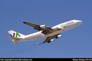 Avión Boeing 747 EC-KSM