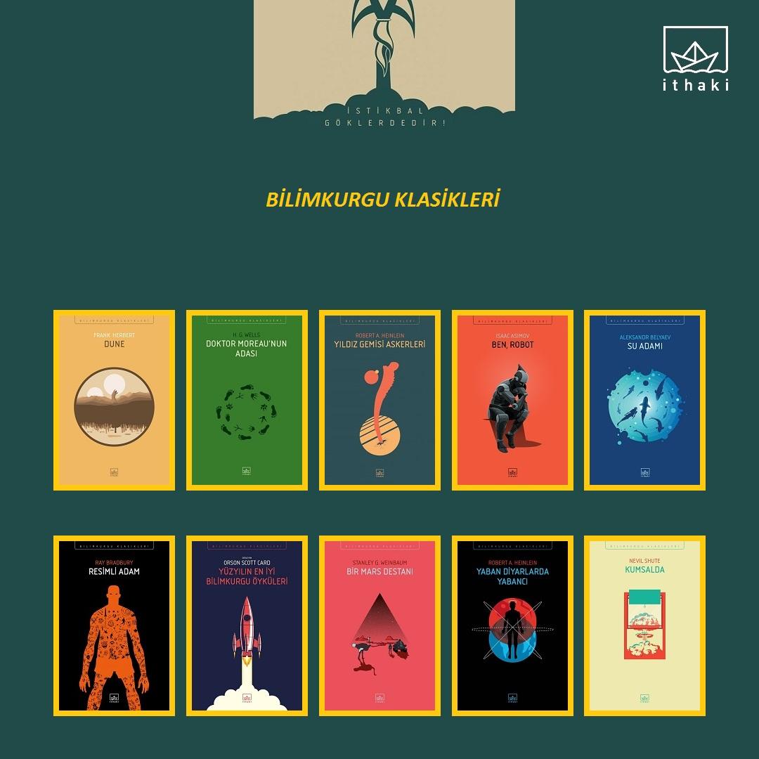 Ithaki Yayınları Bilimkurgu Klasikleri Kitapzel Kitap